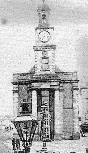 Old picture of the Guildhall
